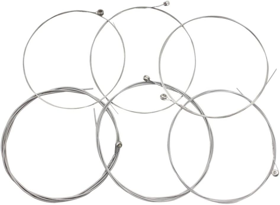 Jili Online Rare Electric Guitar Parts 1st-6 Set online shopping Nickel String Plated