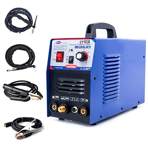 PLASMARGON 3 in 1 Combo Plasma Cutter 30A Air Plasma Cutter 120A TIG MMA Dual Voltage 110/220V With Screen Display Clean Cut