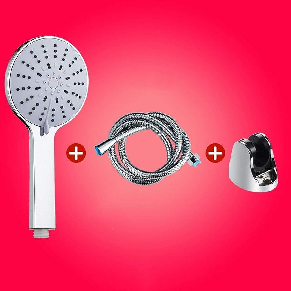 部分的に凝視優先実用的なハンドシャワー フラワーヘッドシャワースプリンクラーヘッドハンドヘルドフラワーシャワー浴室すべて一度にヘッドシャワーフラワーシャワーヘッドスーツ12センチパネル大きな水出口5種類の水 (Color : 3)