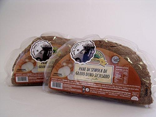 Italienisch - Papa Vince Brot der Greiss des Sizilianischen Hartweizen mit Zwiebel - 2 Paken 900g