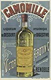 Grenoble Alcool Poster, Reproduktion, Format 50 x 70 cm,