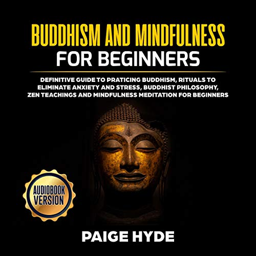 Buddhism and Mindfulness for Beginners cover art