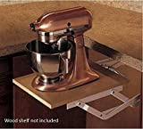 Wood Technology Kitchen Appliance Lift in White
