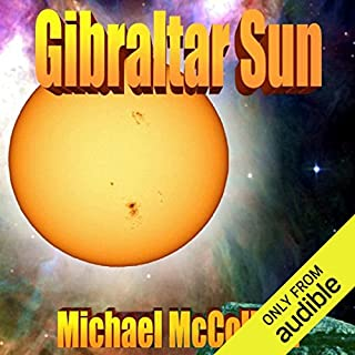 Gibraltar Sun audiobook cover art