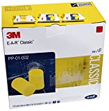 3M E-A-R Classic Earplugs, 28 dB, Uncorded, Pillowpack, 250 Paires/Boîte, PP-01-002