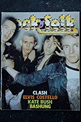 ROCK & FOLK 170 MARS 1981 THE CLASH ELVIS COSTELLO KATE BUSH ALAIN BASHUNG
