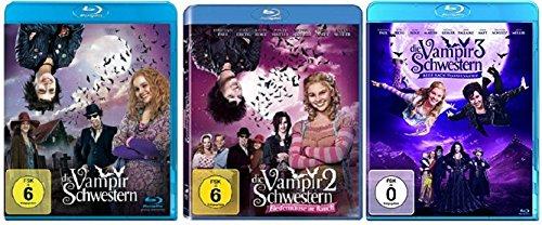 Die Vampirschwestern Teil 1+2+3 (1-3) / Blu-ray Set