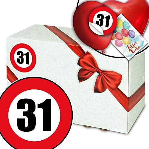 Zum 31. Geburtstag - Geschenkpaket Ideen - Geschenke zum 31 Geburtstag Frau