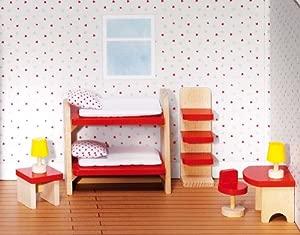 GoKi Furniture for Flexible Puppets Childrens Room Basic