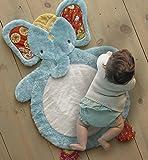 Levtex Baby - Zahara Playmat - Elephant - Orange, Teal, Yellow, Red, Fuchsia - Nursery Accessories