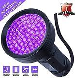 Black Light UV Flashlight UV Lights, WJZXTEK 68 LED 395 nM Powerful Ultraviolet