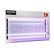 WELLBERG Slim Flying Insect Killer 50 WATT Uv Tubes – Catcher – Model No – WB54192 Bug Zapper with HIGH Voltage Current Rectifier