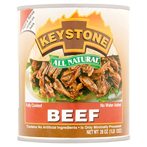 Keystone Meats All Natural Canned Beef (28 Ounce - 6 pack)