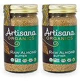 Artisana Organics Non GMO Raw Almond Butter, 14 oz (2 Pack)