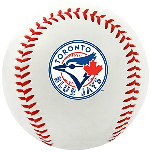 Rawlings MLB Toronto Blue Jays Team Logo Baseball, Official, White