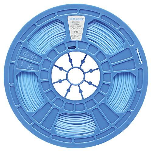 Dremel 3D PLA Filament 1,75mm für 3D Drucker in Blau, Vorteilspack 750g