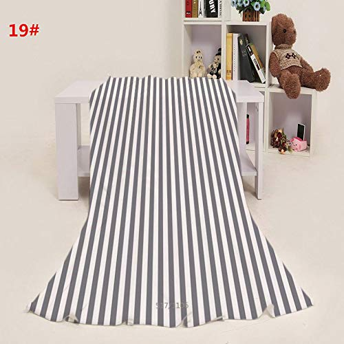 Epty flanellen deken, zacht en comfortabel, geschikt voor kamers met een slaapbank
