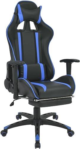 alta calidad XINGLIEU Silla de Escritorio reclinable con con con reposapiés 70x 71x (126 136) cm (L x P x H) azul para tu casa o Oficina  hasta un 50% de descuento