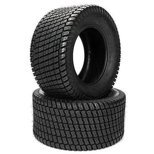 SUNROAD Set of 2 Turf Tires Lawn & Garden Mower Tractor Cart Tires Tire 23x10.50-12 P332 4Ply
