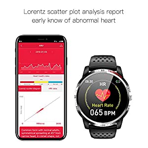 NiceFuse Smart Watch, Fitness Tracker Sport Watch with Heart Rate Blood Oxygen Monitor, Multiple Sport Modes, Waterproof Activity Tracker Smartwatches with Sleep Monitor (TPU Green MIH)