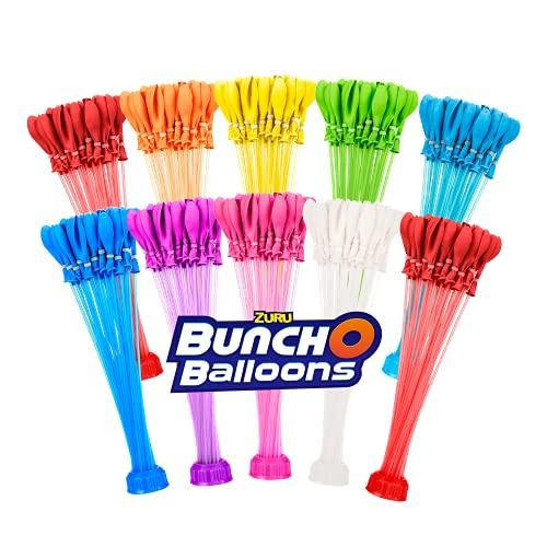 Bunch O Balloons - 350 Rapid-Fill Water Balloons (10 Count) Amazon Exclusive, Multi-Colored, Colors May Vary