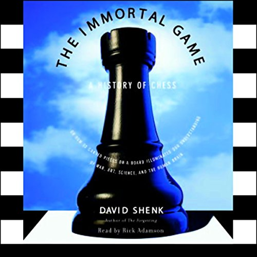 The Immortal Game audiobook cover art