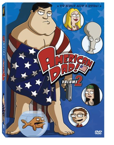 American Dad - Season 2 [3 DVDs]