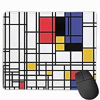 マウスパッド 抽象的絵 Mousepad ミニ 小さい おしゃれ 耐久性が良 滑り止めゴム底 表面 防水 コンピューターオフィス ゲーミング 25 x 30cm