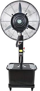ventilador Nebulizador Industrial Oscilante De Pie,enfriamiento Spray Potente, 3 Velocidades,Tanque De Agua De 42L,220V / 50Hz,3 M De Longitud De Cable