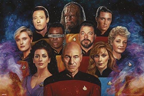 Star Trek - The Next Generation Poster (36 x 24)