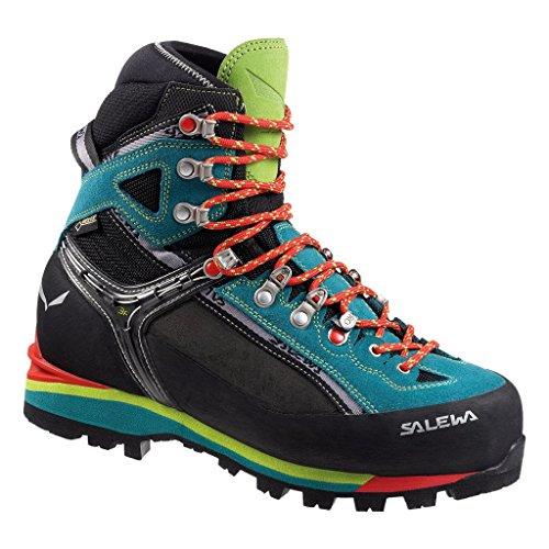 Salewa MS Wildfire Gore-TEX, Chaussures de trekking et de randonnée Homme, Bleu (Myrtle/Fluo Green), 47 EU