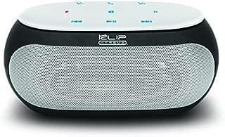 Klip Xtreme Bravo 2 Stereo Speaker- Portable Wireless & Mic- 12 Watt Peak Power, 6W RMS, 40mm Speaker Driver- Micro-SD Slot, 3.5mm Jack, up to 8Hr Playback- White & Black Color