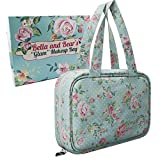 Bella and Bear Toiletry Bag for Women - A Hanging Travel Bag...