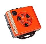 Windhager Repellente per Topi, distributore Mouse ad ultrasuoni Topo Stop E250, per Presa di Corrente, Protezione Universale, Rosso, 05040, 10.5 x 9.5 x 3 cm