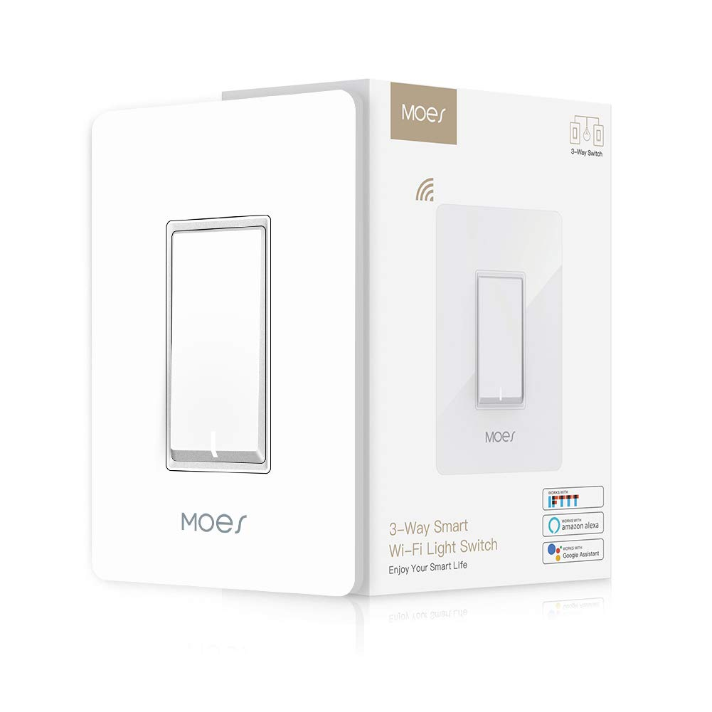 3 Way Wifi Smart Wall Light Switch Wireless Remote App Control From Anywhere Compatible With Alexa And Google Home Timer Function No Hub Require 3 Way Smart Switch 1 Piece Buy Online In China