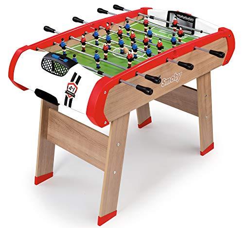 Smoby - Babyfoot Powerplay 4 en 1 - Ping Pong + Hockey et Bi