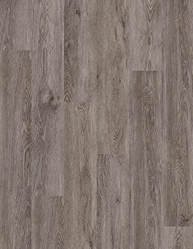 Kraus LVT Luxury Click Fit - Suelo de vinilo 100% impermeable, color gris Grasmere 2,2 m² Pack - QEPLVTP001