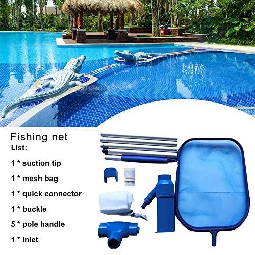Draulic Werkzeug zur Wartung des Schwimmbadwartungswerkzeugs Saugkopfreinigung - Netzkit Reinigungswerkzeugzubehör