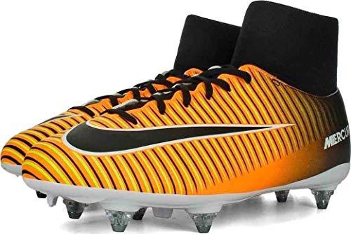 Nike Jr Mercurial Victory VI DF SG–Scarpe da Calcio, Unisex Bambini, Arancione–(Laser Orange/Black-White-Volt)