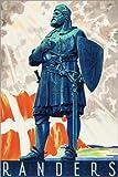 Poster 100 x 150 cm: Randers, Dänemark von Travel