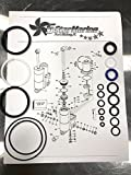 FiveStar Marine Rebuild KIT!! Evinrude Johnson Trim Tilt 25 35 40 48 50 HP 1989-2004 435567 435894 435903 0435567 FSM013
