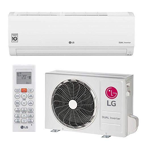 Ar Condicionado Split Hi Wall LG DUAL Inverter Voice 9000 BTUs Frio S4Q09WA51A 220V