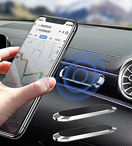 Soporte para Teléfono para Automóvil Soporte Magnético para Teléfono Soporte de Ventilación con Ventilación de Aire Universal Compatible con iPhone 12 11 XS Plus Samsung 11 Pro /11/ XS MAX (2 Pack)