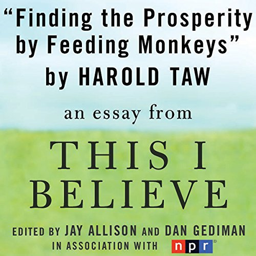 Finding Prosperity by Feeding Monkeys audiobook cover art