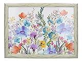 Creative Tops C000336 Knietablett mit Kissen und Wiese Floral