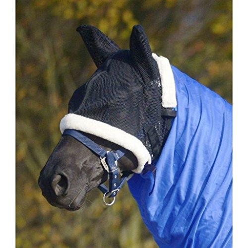 WALDHAUSEN Schutzmaske für Ekzemdecke, schwarz, Warmblut