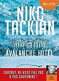 Avalanche Hôtel - Livre audio 1 CD MP3