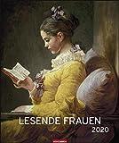 Lesende Frauen Edition. Wandkalender 2020. Monatskalendarium. Spiralbindung. Format 46 x 55 cm - Weingarten