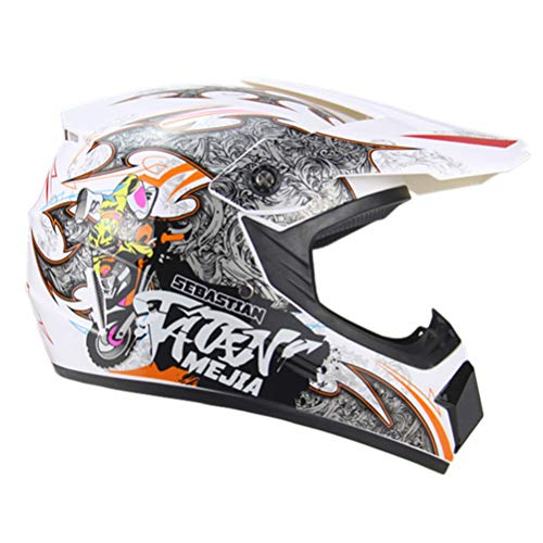 Motocicleta Adulto Motocross Off Road Casco ATV Dirt Bike Downhill MTB DH...