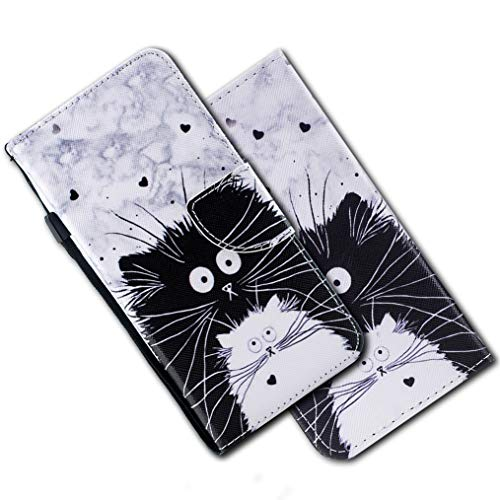 MRSTER Cover per Samsung Galaxy S8 Plus, Moda Bello Custodia a Libro in Pelle PU Flip Portafoglio Custodia Shockproof Resistente Case per Samsung Galaxy S8+ / S8 Plus. HX Cute Totoro